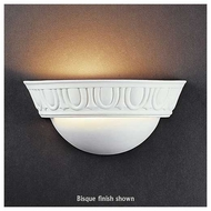 Justice Design 1025 Ambiance Small Cyma Wall Sconce w/ Egg & Dart