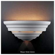 Justice Design 1155 Ambiance Ceramic Really Big Supreme Wall Sconce
