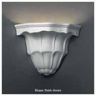 Justice Design 1470 Ambiance Ceramic Small Florentine Wall Sconce