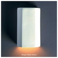 Justice Design 5500 Ambiance ADA Cylinder Wall Sconce, Closed Top