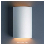Justice Design 5945 Ambiance ADA Small Open-Top Cylinder Wall Sconce