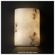 Justice Design 8857 Cylinder Small Wall Sconce