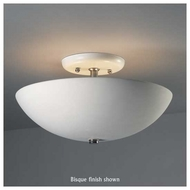 Justice Design 9690 Sun Dagger Round Bowl Semi-Flush Ceiling Lamp