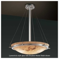 Justice Design 9691 Ring 18  Round Contemporary Pendant Light
