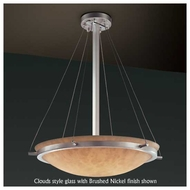 Justice Design 9692 Ring 24  Round Contemporary Pendant Light