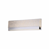 Justice Design ACR-4081-BUBL-CROM Acryluxe Alloy Modern Polished Chrome LED 14  Bathroom Lighting