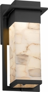 Justice Design ALR-7541W Alabaster Rocks! Pacific Contemporary LED Outdoor Small Wall Sconce