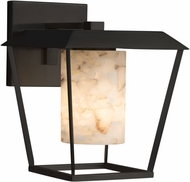 Justice Design ALR-7554W-10 Alabaster Rocks! Patina Modern Exterior Large Sconce Lighting