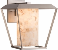 Justice Design ALR-7556W-10 Alabaster Rocks! Patina Contemporary Outdoor Sconce Lighting