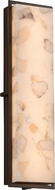 Justice Design ALR-7565W Alabaster Rocks! Avalon Contemporary LED Outdoor Light Sconce