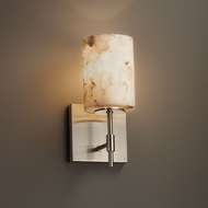 Justice Design ALR-8411 Union Alabaster Rocks! Wall Lamp