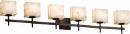 Justice Design ALR-8416 Alabaster Rocks! Union Contemporary Bathroom Lighting