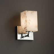 Justice Design ALR-8421 Tetra Alabaster Rocks! Wall Lighting