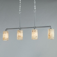 Justice Design ALR-8465 Alabaster Rocks! Bronx Modern LED Island Lighting