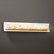 Justice Design ALR-8635 Lineate Alabaster Rocks! LED 30  Vanity Light