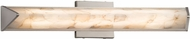Justice Design ALR-8691 Alabaster Rocks! Apex Contemporary LED 21  Vanity Light Fixture