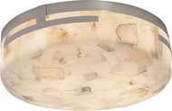 Justice Design ALR-8995 Alabaster Rocks! Atlas Modern LED Ceiling Lighting Fixture