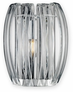 Justice Design BOH-6041-CLER-CROM Bohemia Aplique Modern Polished Chrome LED Wall Lighting Sconce