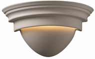Justice Design CER-1005 Ambiance Classic Ceramic LED Lighting Wall Sconce
