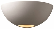 Justice Design CER-1320 Ambiance Small Metro Contemporary Ceramic LED Lighting Wall Sconce