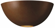 Justice Design CER-1325 Ambiance Large Metro Contemporary Ceramic LED Wall Lighting Sconce