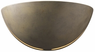 Justice Design CER-1385 Ambiance Large Cosmos Contemporary Ceramic LED Wall Lighting Fixture