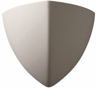 Justice Design CER-1800 Ambiance Small Ambis Contemporary Ceramic LED Wall Sconce