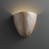 Justice Design CER-2150 Ambiance Pecos Contemporary Ceramic LED Lighting Wall Sconce