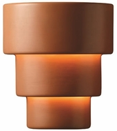 Justice Design CER-2235 Ambiance Large Terrace Contemporary Ceramic LED Wall Lighting