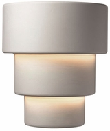 Justice Design CER-2235W Ambiance Large Terrace Contemporary Ceramic LED Outdoor Sconce Lighting