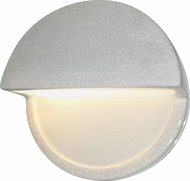 Justice Design CER-5615 Ambiance Contemporary LED Dome Open Top Light Sconce