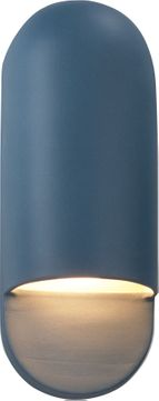 Justice Design CER-5620-MID Ceramic Ambiance Contemporary Midnight Sky LED 14 Wall Lighting