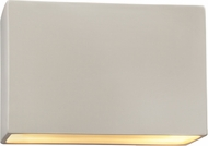Justice Design CER-5655-MAT Ambiance Contemporary Matte White LED 12  Wall Mounted Lamp