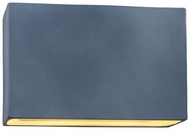 Justice Design CER-5658 Ambiance Wide Rectangle Modern Ceramic LED Wall Mounted Lamp