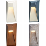 Justice Design CER-5680 Ambiance Contemporary LED Vertice Lamp Sconce