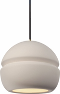 Justice Design CER-6410-BIS Radiance Contemporary LED Mini Hanging Light