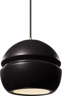 Justice Design CER-6410-CRB Radiance Modern LED Mini Pendant Light Fixture