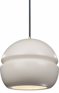 Justice Design CER-6410-MAT Radiance Contemporary LED Mini Pendant Lighting Fixture