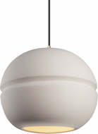 Justice Design CER-6415-BIS Radiance Contemporary LED Hanging Pendant Lighting