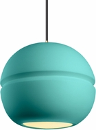 Justice Design CER-6415-RFPL Radiance Modern LED Pendant Hanging Light