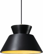 Justice Design CER-6420-CBGD Radiance Contemporary LED Mini Ceiling Light Pendant