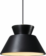Justice Design CER-6420-CRB Radiance Contemporary LED Mini Ceiling Pendant Light