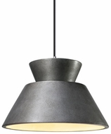 Justice Design CER-6420 Radiance Trapezoid Contemporary Ceramic LED Mini Drop Ceiling Lighting