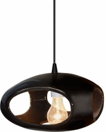 Justice Design CER-6440-BLK Radiance Modern Drop Ceiling Lighting