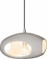 Justice Design CER-6440-CONC Radiance Contemporary Ceiling Light Pendant