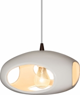 Justice Design CER-6440-MAT Radiance Contemporary Ceiling Pendant Light