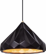 Justice Design CER-6450-CBGD Radiance Contemporary LED Drop Lighting Fixture