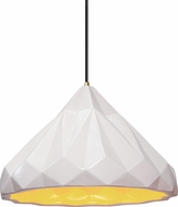 Justice Design CER-6450-MTGD Radiance Modern LED Pendant Light