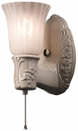 Justice Design CER-7121 American Classics Heirloom Oval Contemporary Ceramic LED Sconce Lighting