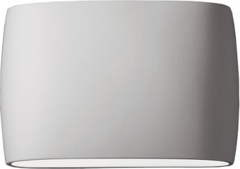 Justice Design CER-8899-BIS Ceramic Ambiance Contemporary Bisque LED 16 Wall Mounted Lamp